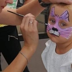 pomalowana twarz dziecka 3